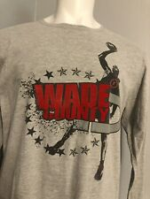 🔥 Rare VINTAGE Converse NBA MIAMI HEAT DWAYNE WADE  County SHIRT Large  L