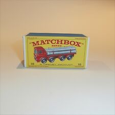 Repro Box Matchbox SuperKings K-10 Pipe Truck
