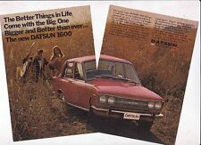 1968-69 DATSUN 1600 Small Format Australian Ad Readers Digest