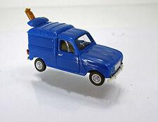 Wiking 022502 Renault R 4  Kastenwagen mit Leiter blau Scale 1 87 NEU OVP