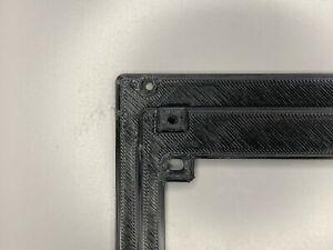 NZXT PSU 3D Printed Bracket Replacement Flat Version