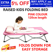 Portable Kids Bed Folding Travel Camp Stretcher Toddler Guest Camping Beach Bed