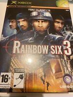 🤩jeu rainbow six xbox 1 ere gen pack neuf + casque scelle pal fr édition limite