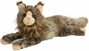 "Douglas Plush Stuffed Animal Oscar DLux Maine Coon, 20"" Long Without Tail"