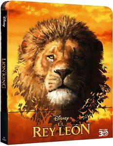 Blu-Ray 3D SteelBook El Rey León