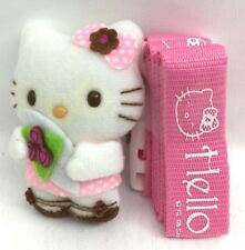Hello KITTY 2X43CM Cordino in rosa con 7CM PELUCHE HELLO KITTY LT UK