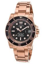 Legend Deep Blue Black Rose Unisex Watch LD-1001-RG-11
