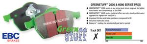 EBC Greenstuff Rear Brake Pads For 09-18 Ram 1500