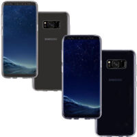 Custodia Crystal Full Body 360° per Samsung Galaxy S8+ Plus G955F cover case TPU