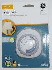 GE Basic Timer Indoor 24 Hour Plug-in Programmable 15152 NEW