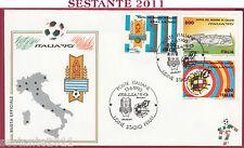 ITALIA FDC COPPA DEL MONDO MONDIALI ITALIA '90 UDINE STADIO FRIULI 1990 U990
