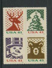 USA - 2007, Christmas 1st series set - S/A - SG 4791/4