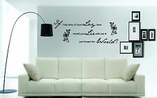 Words Phrases Music Wall Decals & Stickers