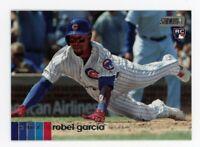 2020 Topps Stadium Club #47 ROBEL GARCIA Chicago Cubs PHOTO Rookie Card RC
