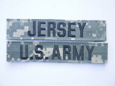 US ARMY AT Digital ACU UCP Uniform ACUPAT Name Tape Klett patch JERSEY