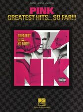 Pink Greatest Hits Who Knew Perfect Play Pop Rock Piano Vocal Guitar Music Book