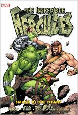 MARVEL COMICS INCREDIBLE HERCULES SMASH OF THE TITANS HC HARDCOVER OOP