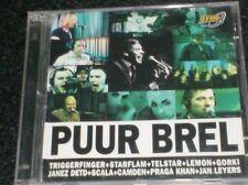 PUUR BREL - Artiesten zingen / Artistes chantent Jacques Brel /  Gorki...CD+DVD