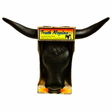 Truth Roping Steer Head Dummy Rodeo Practice Team Rope Black Bull Cow