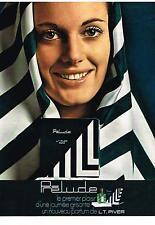 PUBLICITE  1970   L.T. PIVER    parfum  PRELUDE
