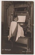 Dr. Radcliffe, Playing Organ, Emary of Grantham RP Postcard, B718