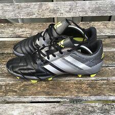 Adidas Neoride III 3 Football Boots Black Silver Grey Size UK 8 EU 42