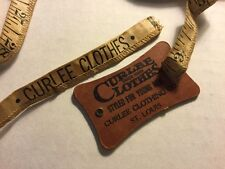 Curlee Clothes And Sears, Roebuck And Co. 5 Foot Cloth Tape Measures