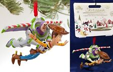 Disney 2019 Toy Story Buzz and Woody Sketchbook Christmas Ornament With Tag