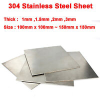 Aluminium Sheet Plate 1060 various sizes and 2mm thicknesses 500x500mm 100x100mm
