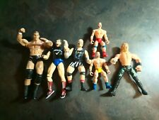 Wrestling Action Figure Lot Of 6 Toys 1997 To 2005 Vintage to now