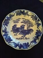 Antique chinese blue and white porcelain bowl