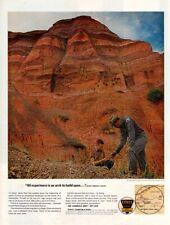 Vintage advertising print Gas Oil Ethyl Corp Palo Dura Canyon Texas Comanche ad