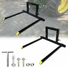 1PCS Adjustable 3 Point Quick Hitch Pallet Fork Category 1 Tractor Carry Forks