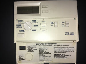 WX 1500 Programmable Thermostat (thermopile capable)