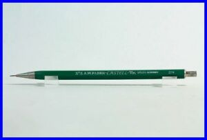 "rare 0.5 mm 1970s FABER-CASTELL TK 9501 2H leadhoder  ""DUPONT"" advert-imprint"