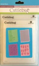 CUTTLEBUG Embossing Folders Set of 4 ORIENTAL WEAVE