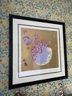 """Erte, Signed, Limited Edition, Serigraph """"Spring Shadows II Gold"""""""
