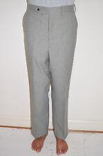 "Vintage Men's 70's Checkered Plaid Polyester Pants Metal Zipper 36"" x 31"" +3"""