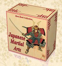 Ancient Japanese Martial Arts - 20 Rare Books on DVD Samurai Katana Jiu Jitsu E6