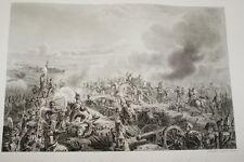 NAPOLEON REDOUTE DE LA MOSKOVA CAULAINCOURT RUSSIE GRAVURE 1838  R1242 IN FOLIO