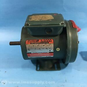 Reliance Electric P56H5068U 1/2HP 1725RPM Motor 3PH 208-230/460V  USIP