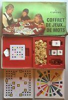 Jeux De Sociétés : COFFRET DE JEUX DE MOTS RARE CAPIÉPA
