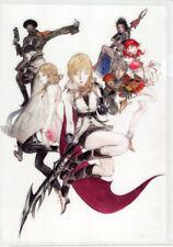 Final Fantasy 13 XIII FF13 FFXIII A4 Clear File Folder Lightning Yoshitaka Amano