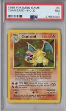 PSA 7 CHARIZARD 1999 Pokemon Base Unlimited #4/102 Holo Non-Shadowless NEAR MINT