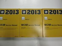 2013 Chevrolet Chevy IMPALA Service Shop Workshop Repair Manual Set FACTORY NEW