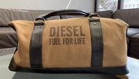 Diesel Weekend Bag Duffle Gym holdall Fuel for Life