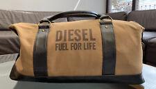 Diesel Weekend Sac Duffle Gym Holdall Fuel for Life