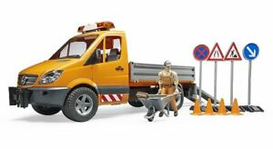 MB Sprinter Road Service Vehicle w/ Worker+extra Bruder Toy Car Model 1/16 1:16