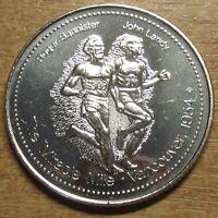 Canada Medal 1978 Edmonton Commonwealth Games - Roger Bannister, John Landy AUNC