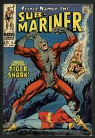 Stan Lee Signed Prince Namor The Sub-Mariner #5 Comic Book 1968 PSA/DNA #W18847